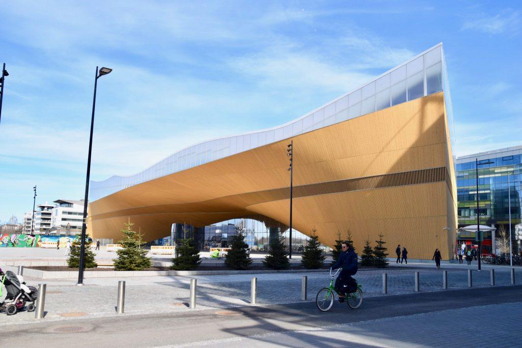 Library Oodi, Helsinki Finland