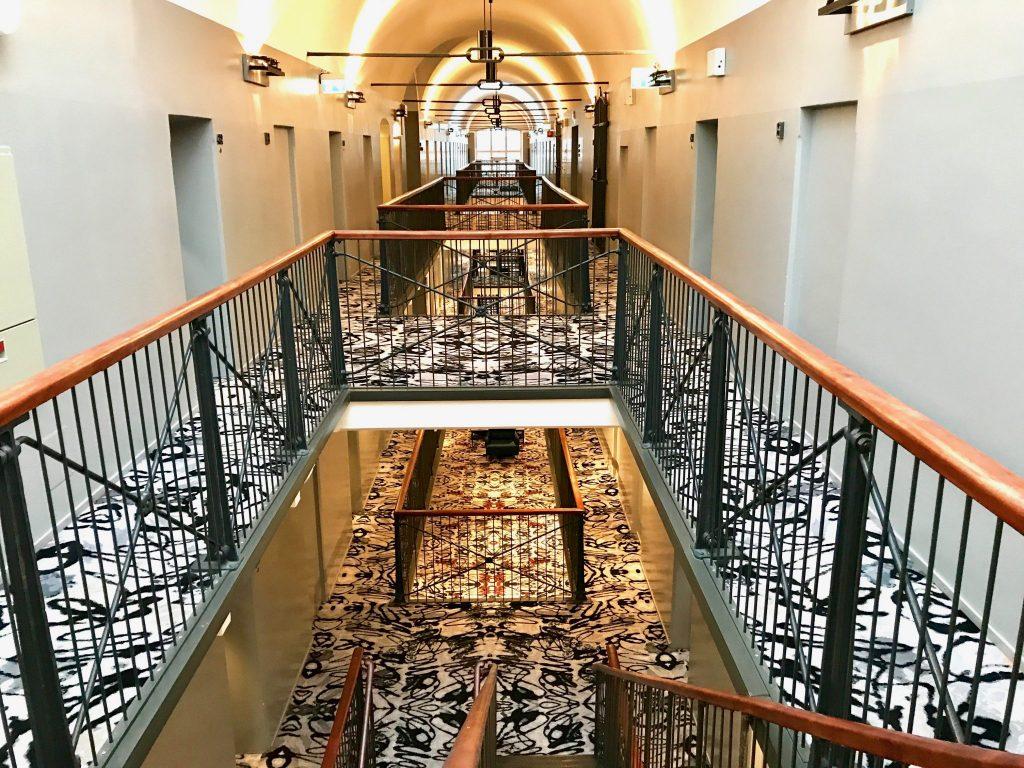 Hotel Katajanokka interior hallway Helsinki Finland