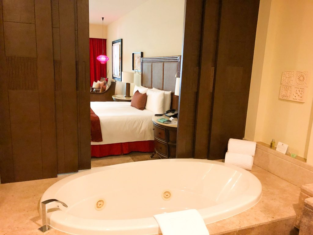 Zen Room with jet tub at Grand Velas Riviera Maya
