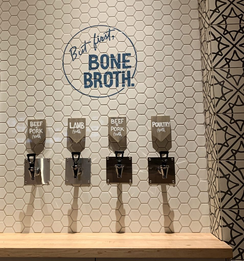 Bone Broth on tap at Belcampo in Hudson Yards NYC
