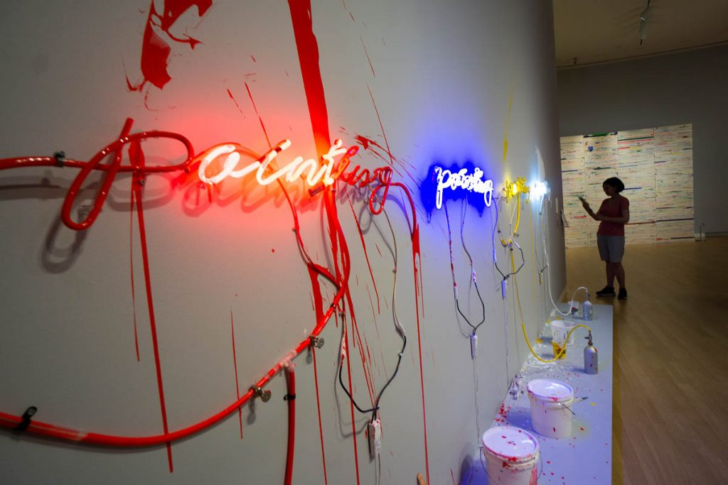 Contemporary art at the Crocker Art Museum