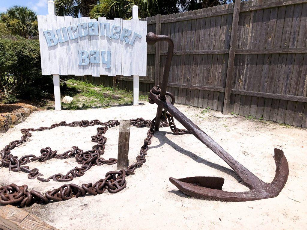 Entrance Sign to Buccaneer Bay at Weeki Wachee