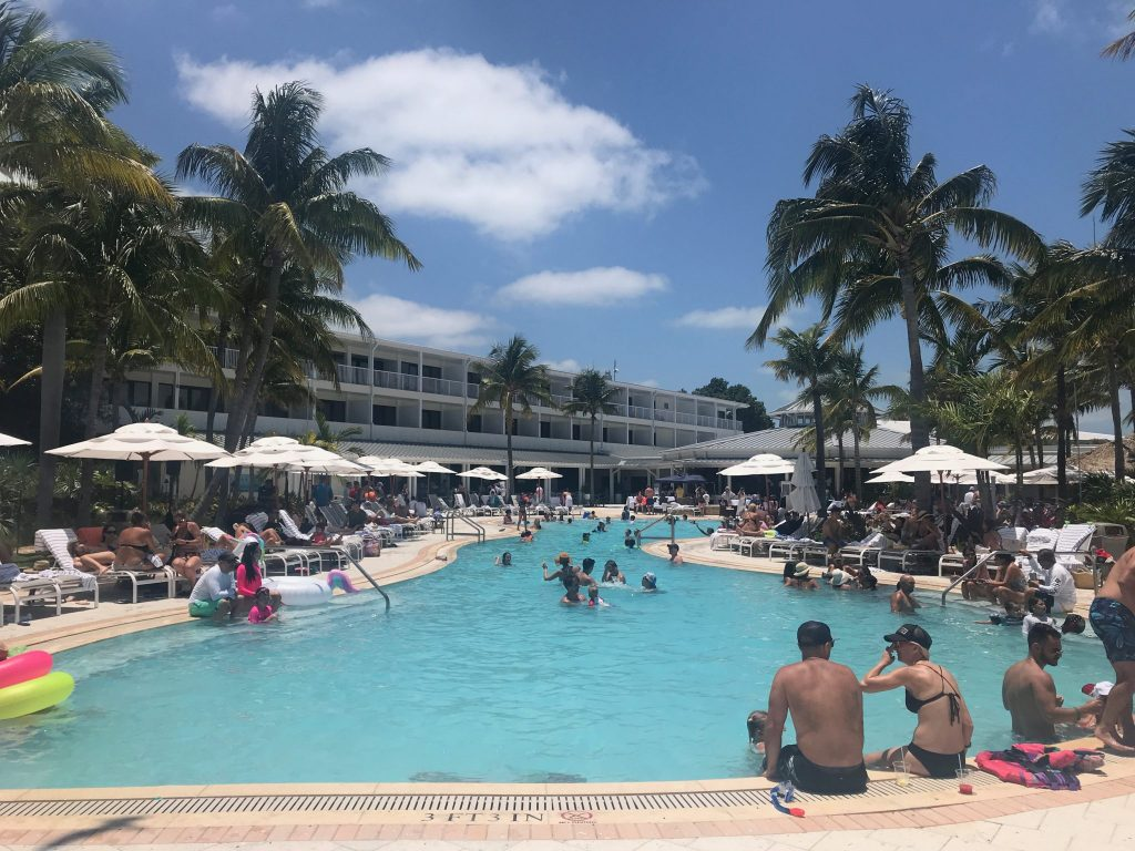 pool view at Hawks Cay Resort