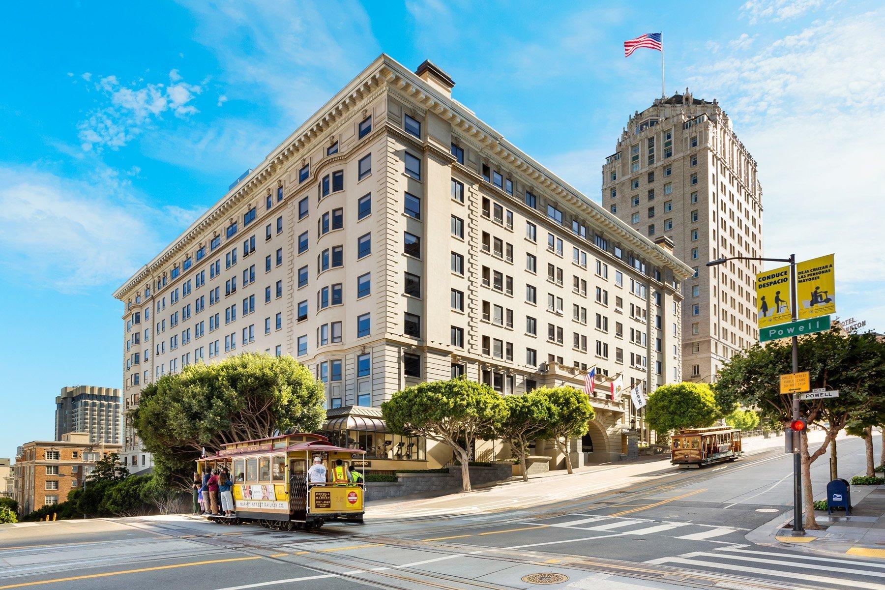 Stanford Court Hotel exterior
