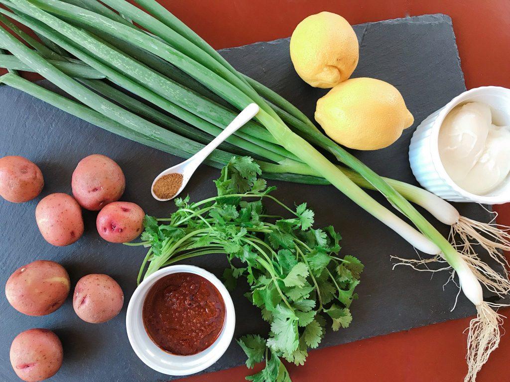 Fresh ingredients for vegetarian meals