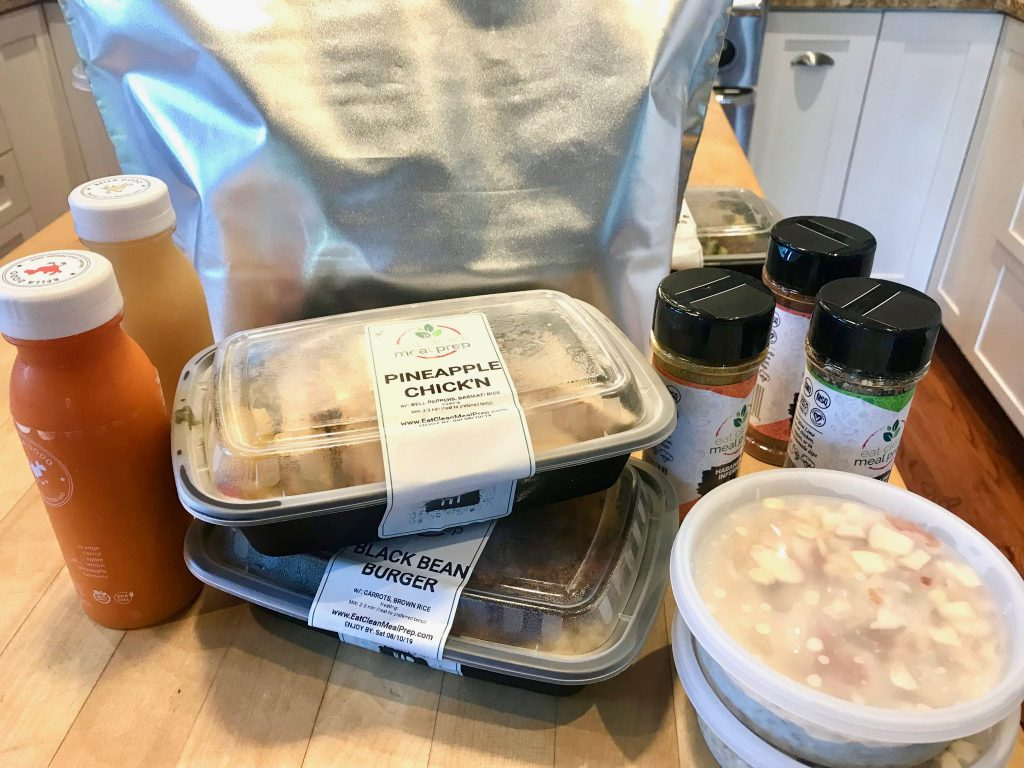delivery of meals from Eat Clean Meal Prep