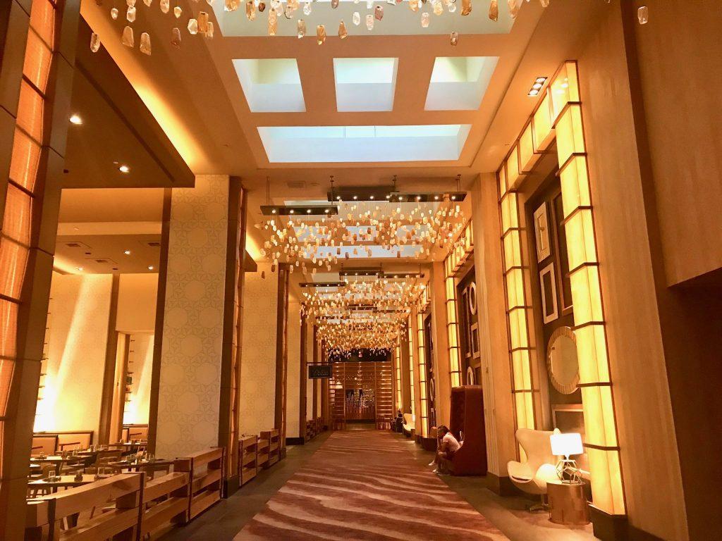 Hallway leading from Delano Las Vegas to Mandalay Bay Resort & Spa, Las Vegas