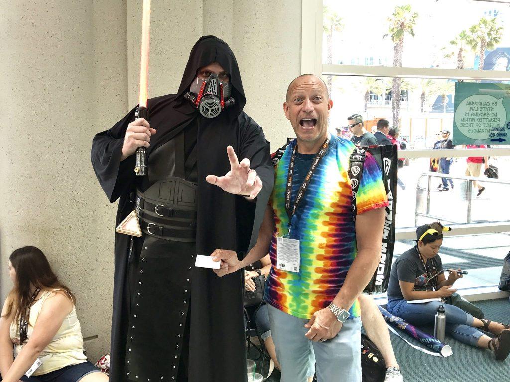 Comic Con with Darth Vader