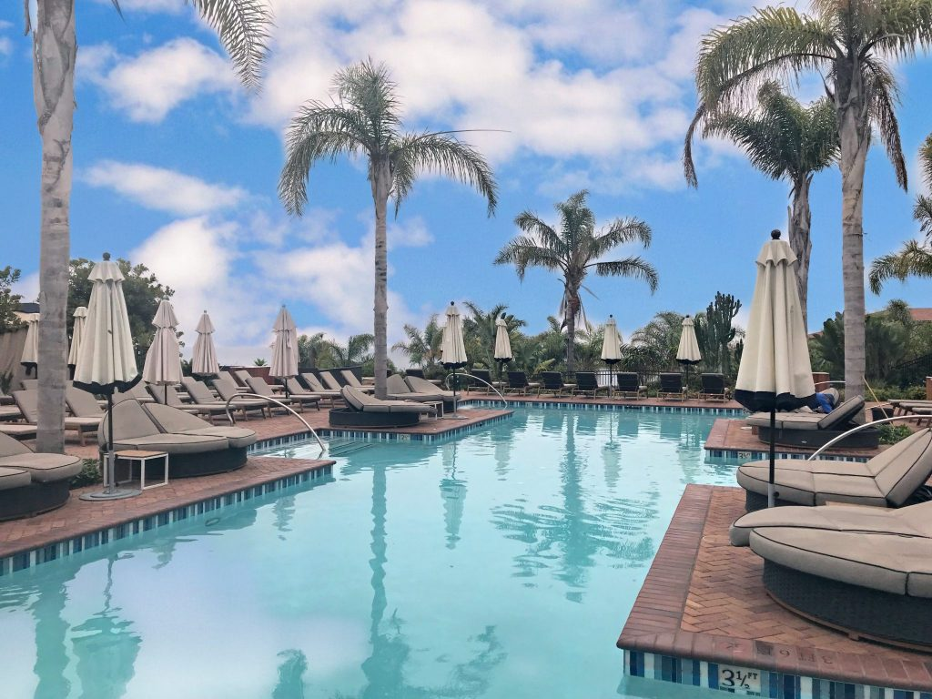 The Vista Pool at Terranea Resort in Rancho Palos Verdes California