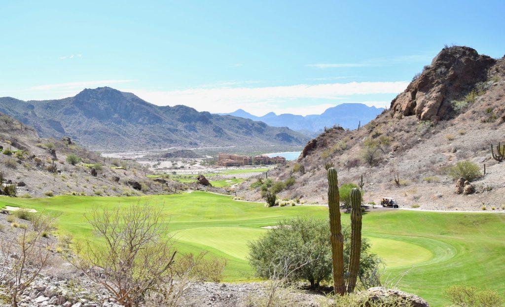 golf course at Villa del Palmar in Loreto, Mexico