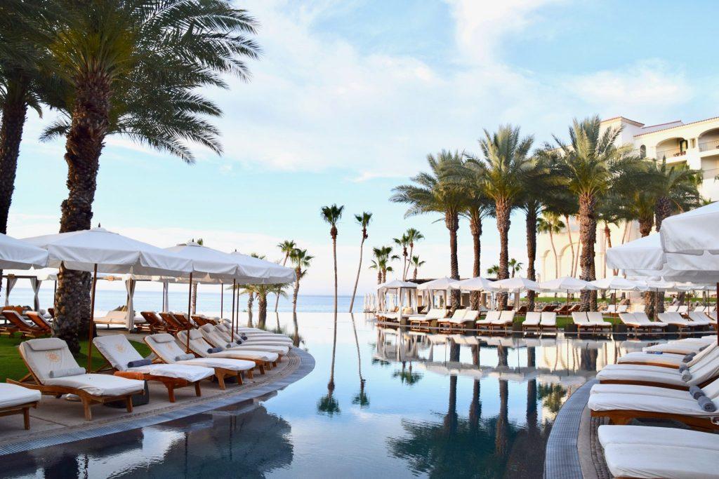 Main pool at Hilton Los Cabos, Mexico