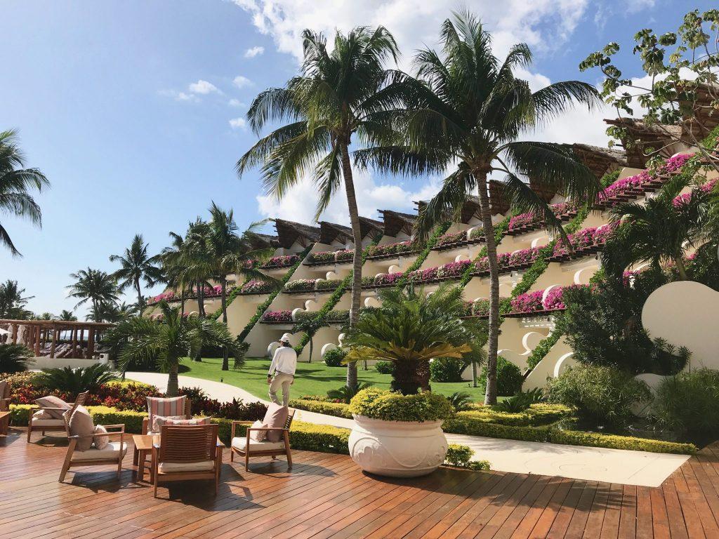 pool view rooms at the Grand Velas Riviera Maya