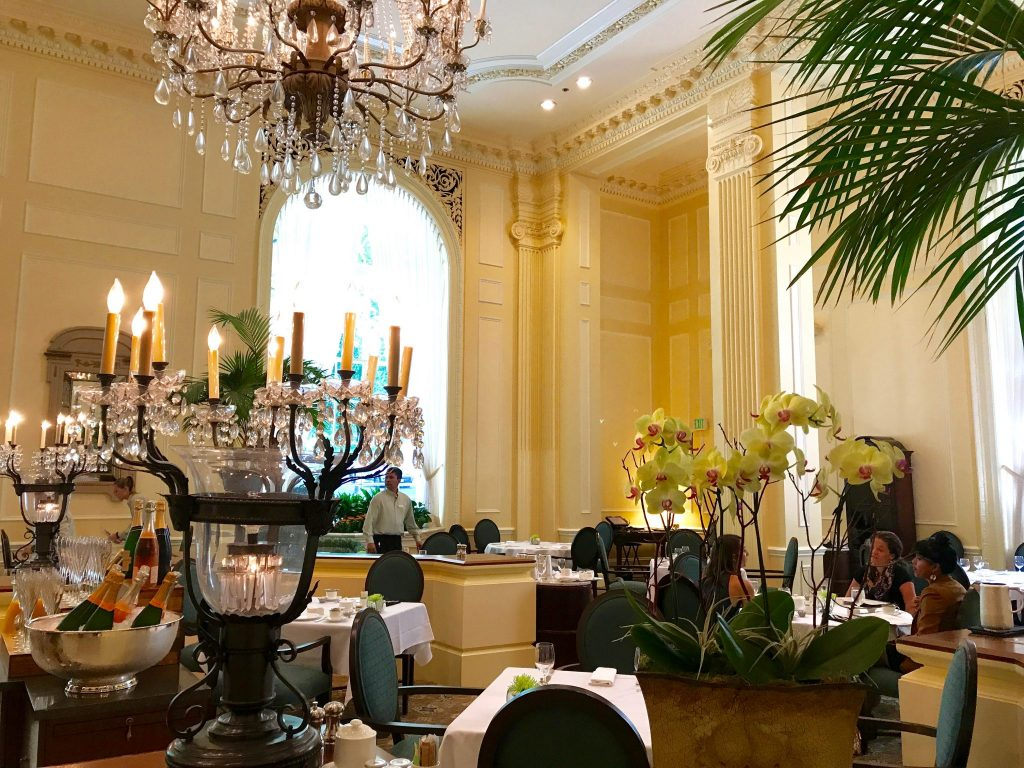 High Tea at the Fairmont Olympic Hotel in Seattle, WA