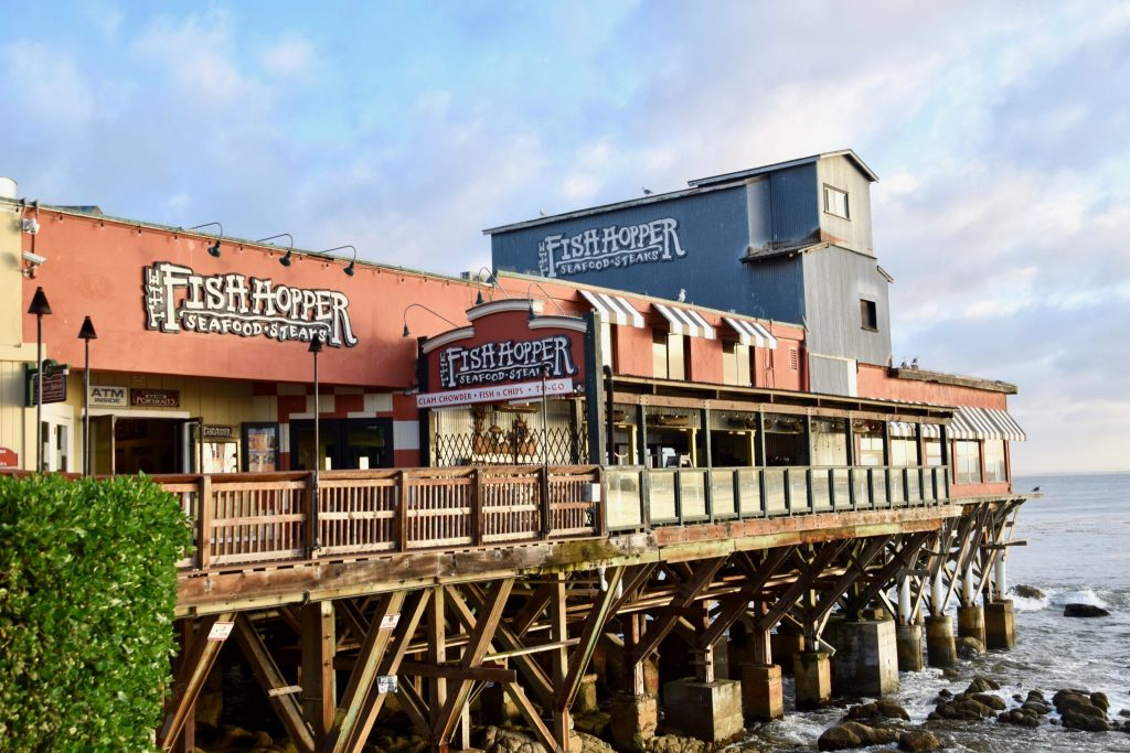 The Fish Hopper restaurant at Cannery Row, Monterey, California