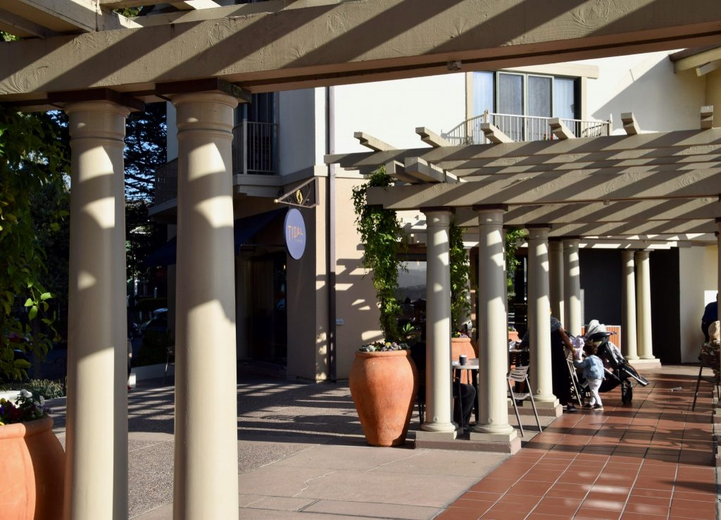 Tidal Coffee and plaza at the Monterey Plaza Hotel & Spa