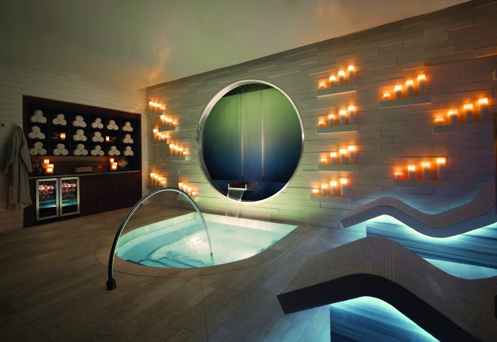 whirlpool room at Spa at Vdara Hotel