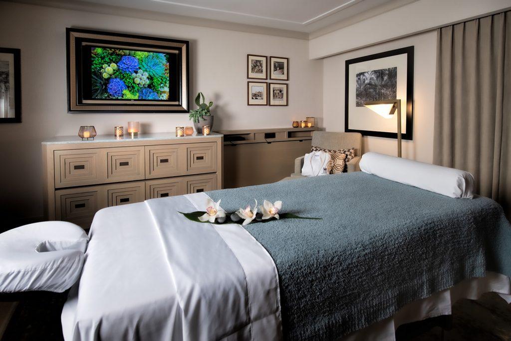 Spa treatment room at Arizona Biltmore resort