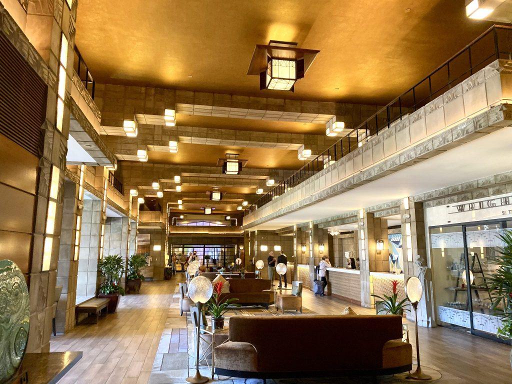 Arizona Biltmore lobby and registration area