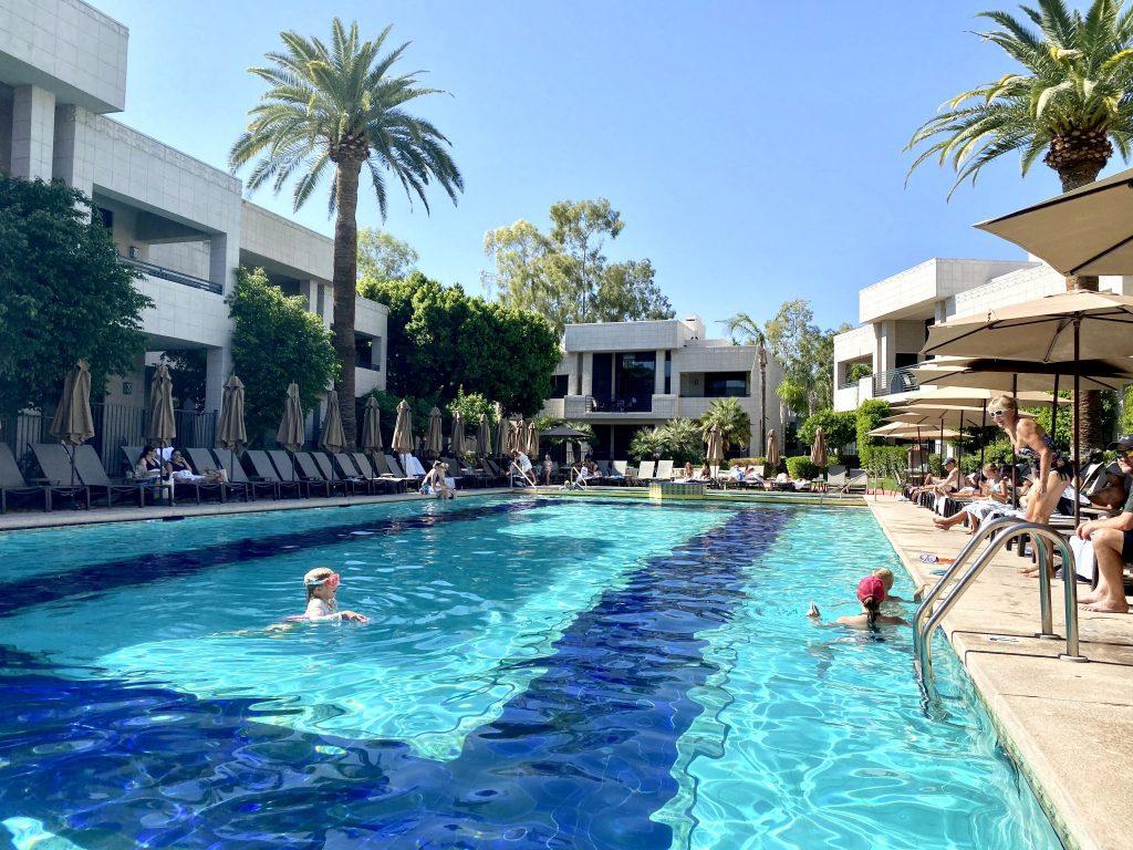 Catalina pool at Arizona Biltmore in Phoenix