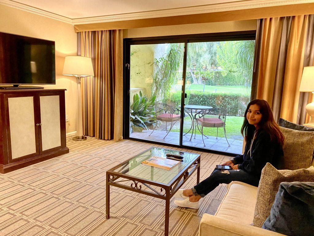 junior suite living room at Miramonte Resort & Spa, Indian Wells, CA