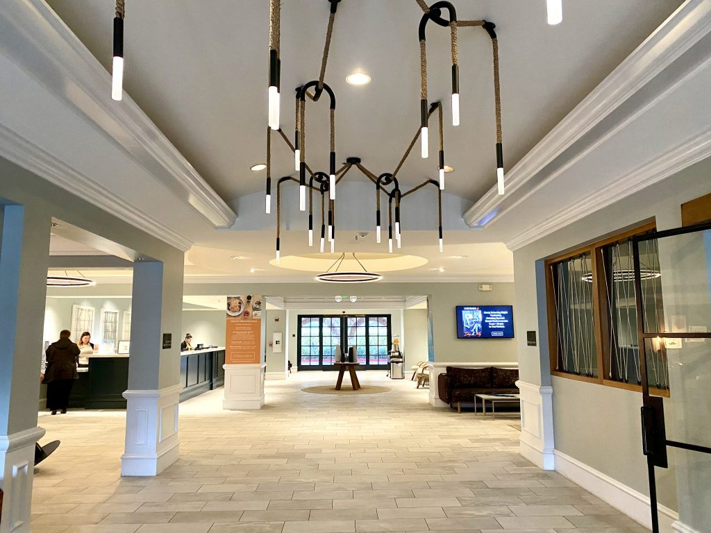 hotel lobby at Miramonte Resort & Spa in Indian Wells, CA