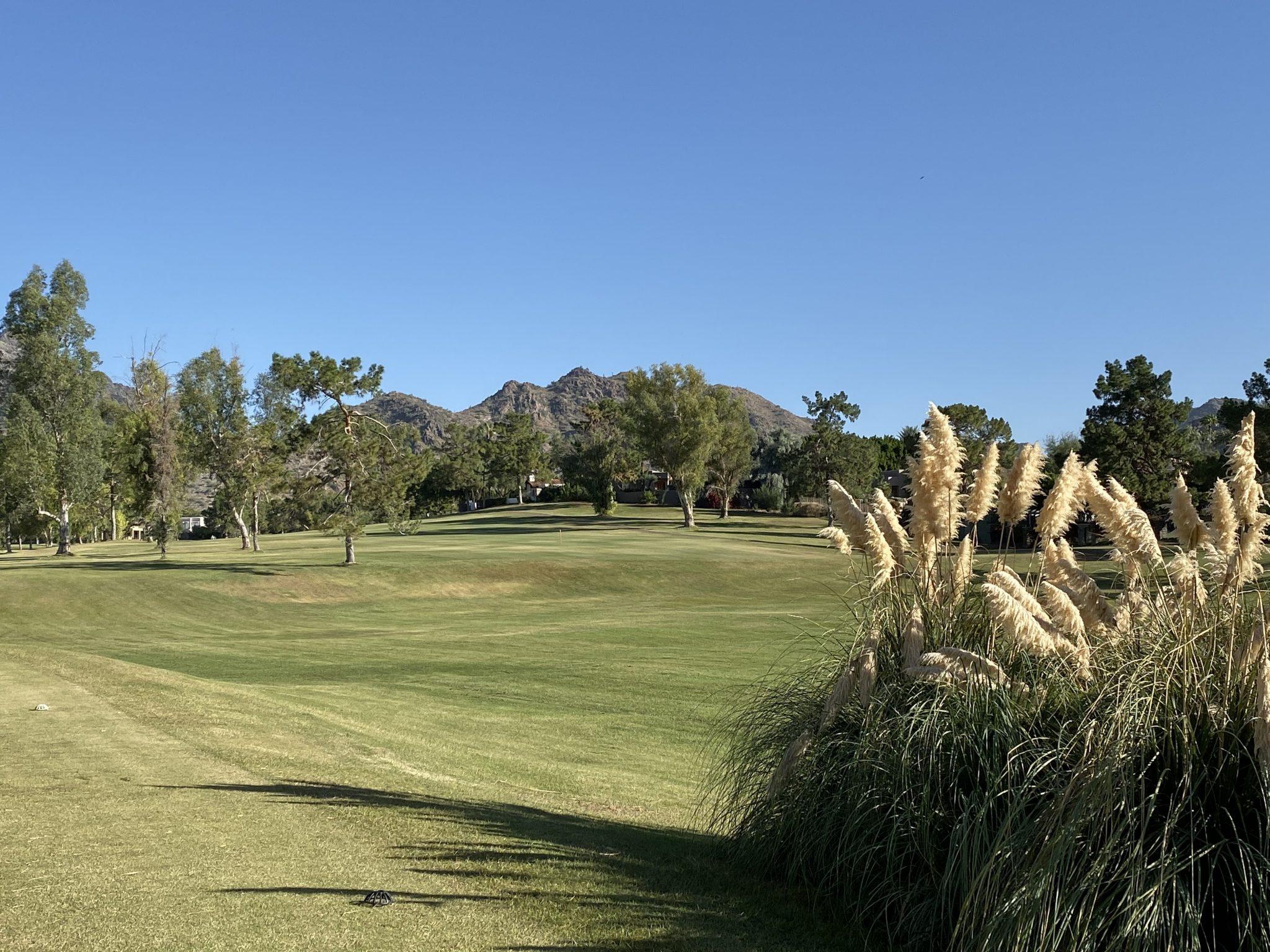 golf course at Arizona Biltmore Resort in Phoenix