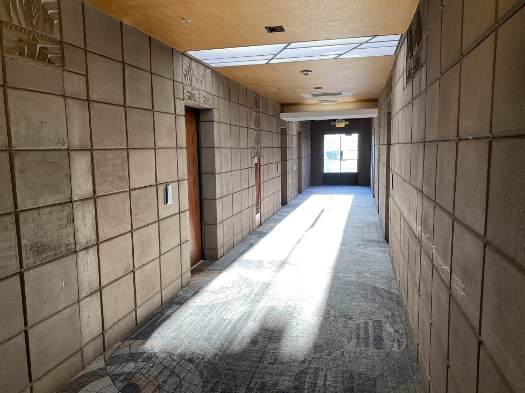 Guest hallway at Arizona Biltmore Resort in Phoenix