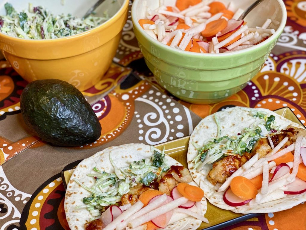 Asian Chicken Taco recipes with Perdue Farms chicken