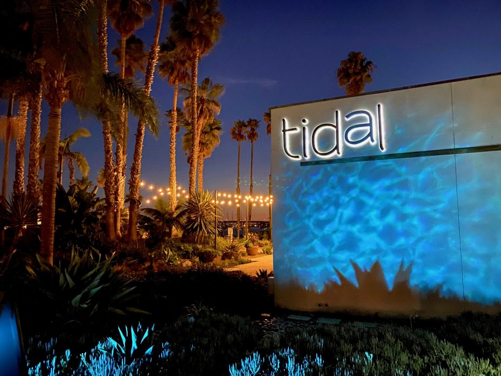 Tidal Restaurant at Paradise Point Resort in San Diego, CA