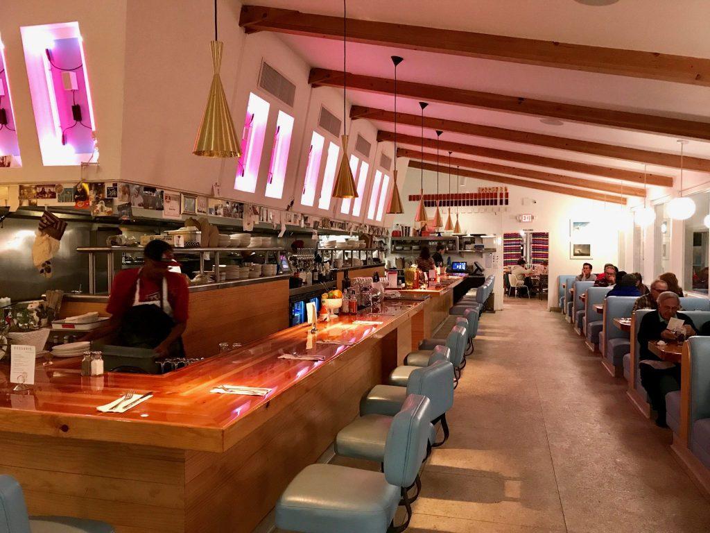 Interior of Welcome Inn Diner in Tucson, Arizona