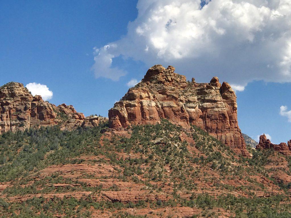 Rock formations in Sedona, Arizona
