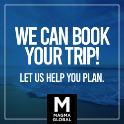 We can book your trip! Let us help you plan.