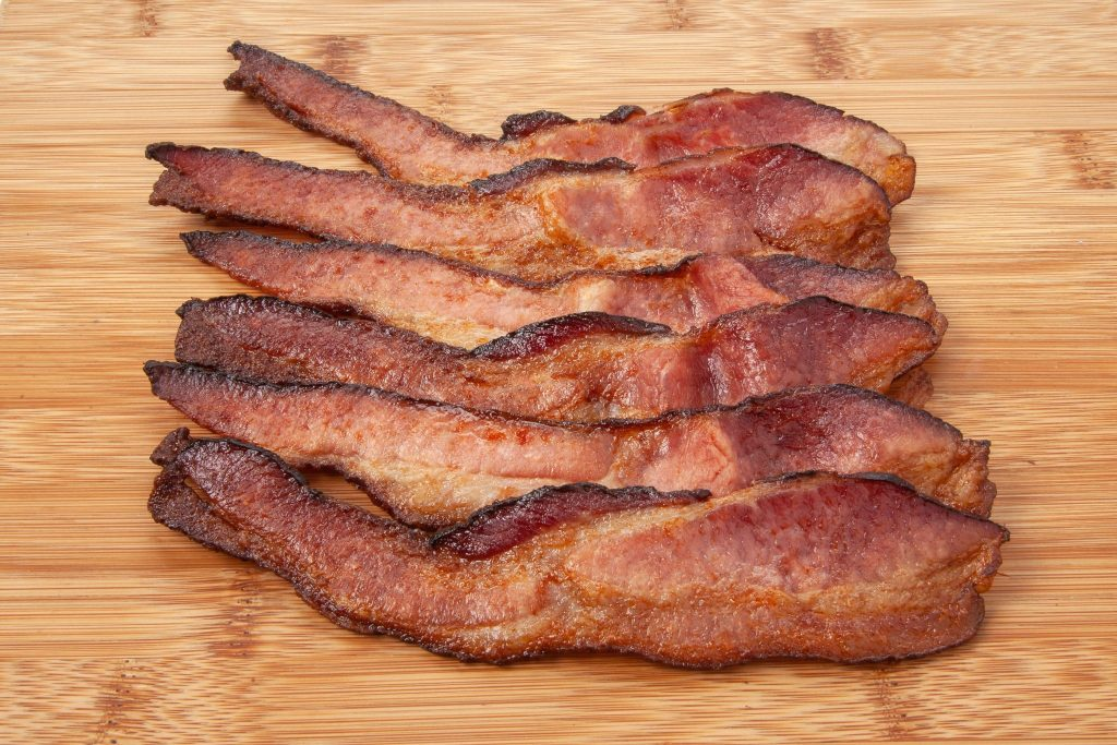 Coleman Natural cooked bacon slices