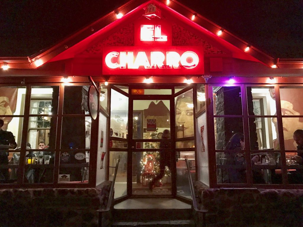 Front entrance of the downtown Tucson location of El Charro Restaurant