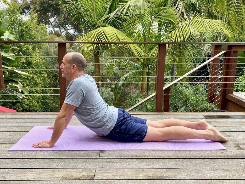 stretching exercises from Upswing Health relieve back stress