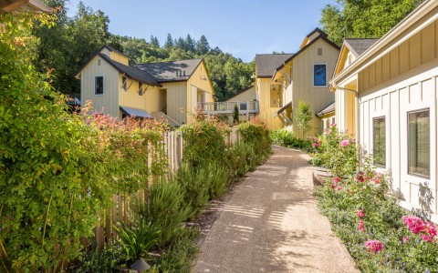 The Farmhouse Inn is one of the most beautiful resorts in Sonoma County