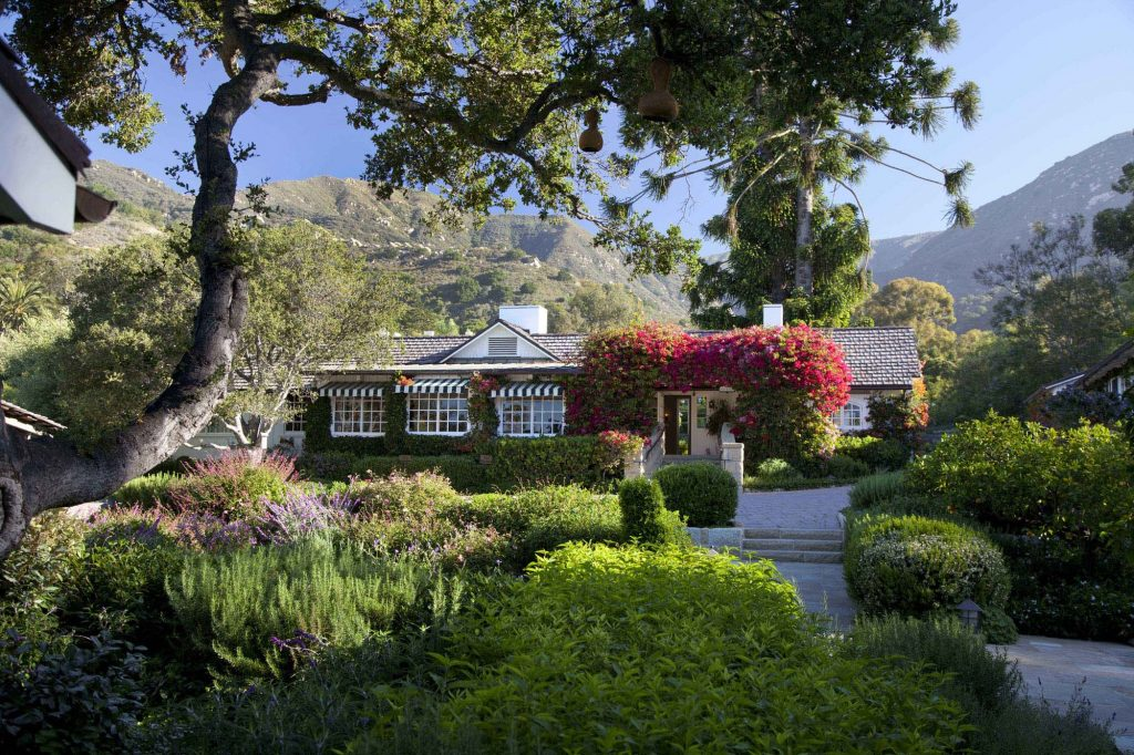 The San Ysidro Ranch is one of the most luxurious resorts in Santa Barbara