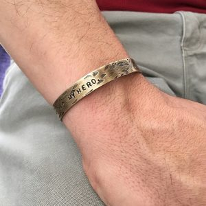 cuff bracelet for Fathers Day from Isabella Grace Jewelery