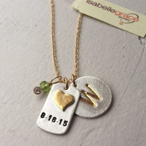 necklace from Isabella Grace jewelry