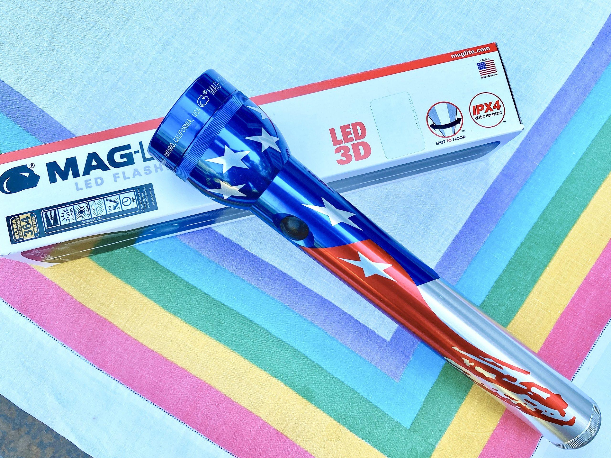 Flag-Lite® Limited Edition Maglite® LED Flashlight