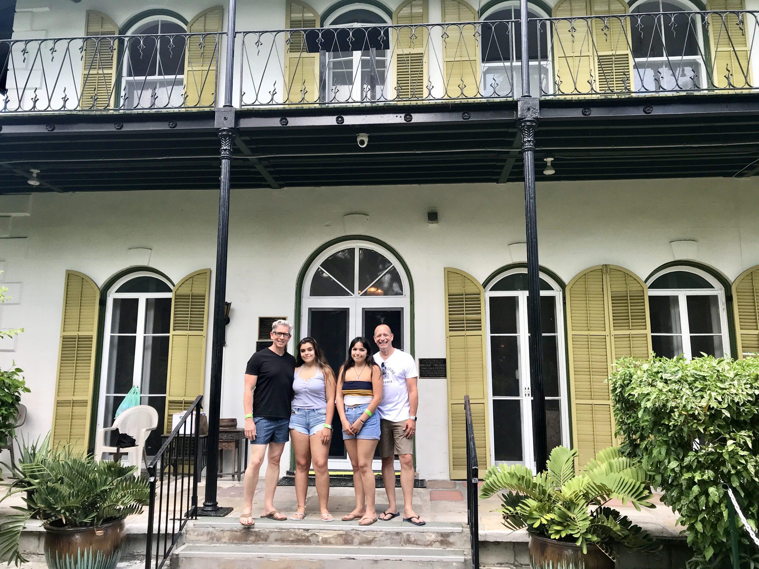 Hemingway House in Key West, Florida