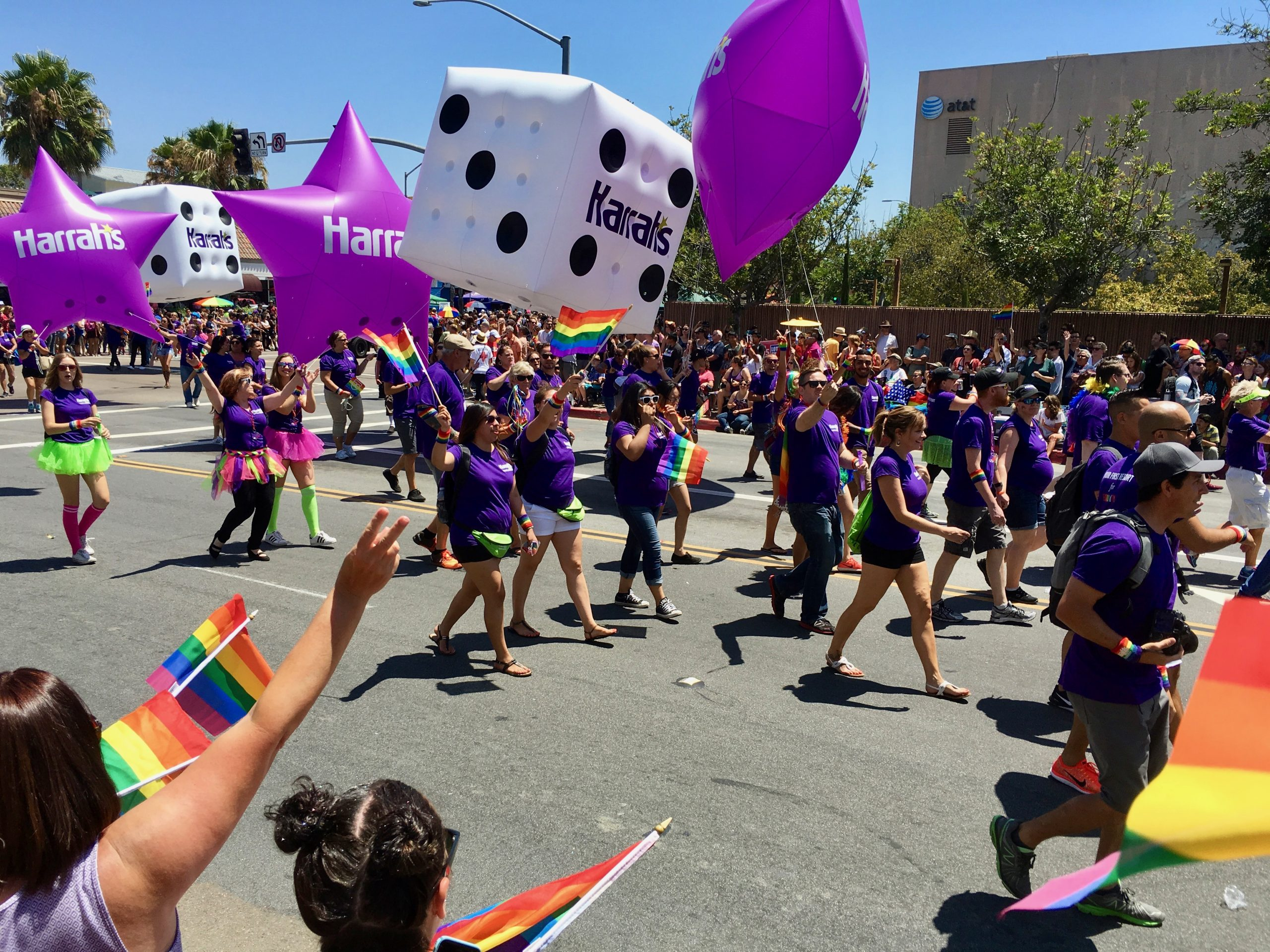 Harrah's shows support for LGBTQ community at San Diego Gay Pride Parade