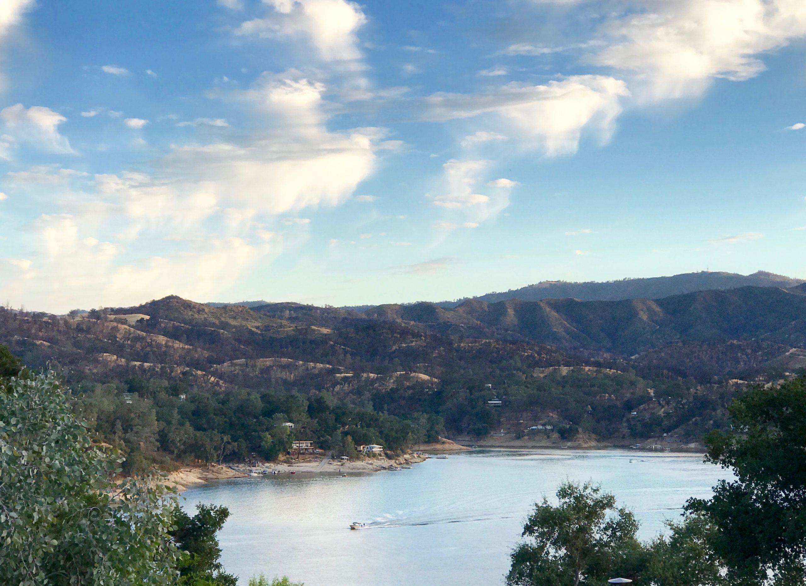 View of Lake Nacimiento near Paso Robles, CA