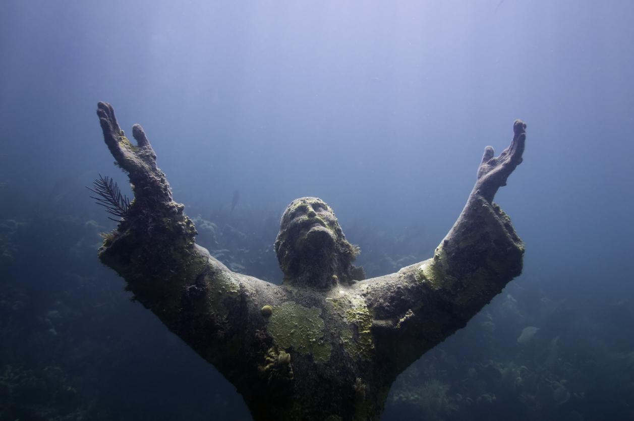 Christ of the abyss, Key Largo, Fl