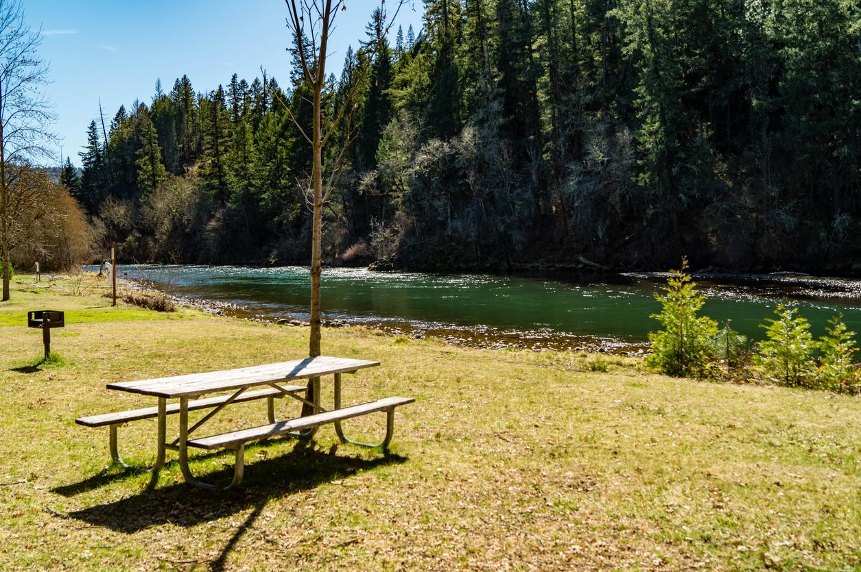 Casey State Recreation Site near Medford, Oregon