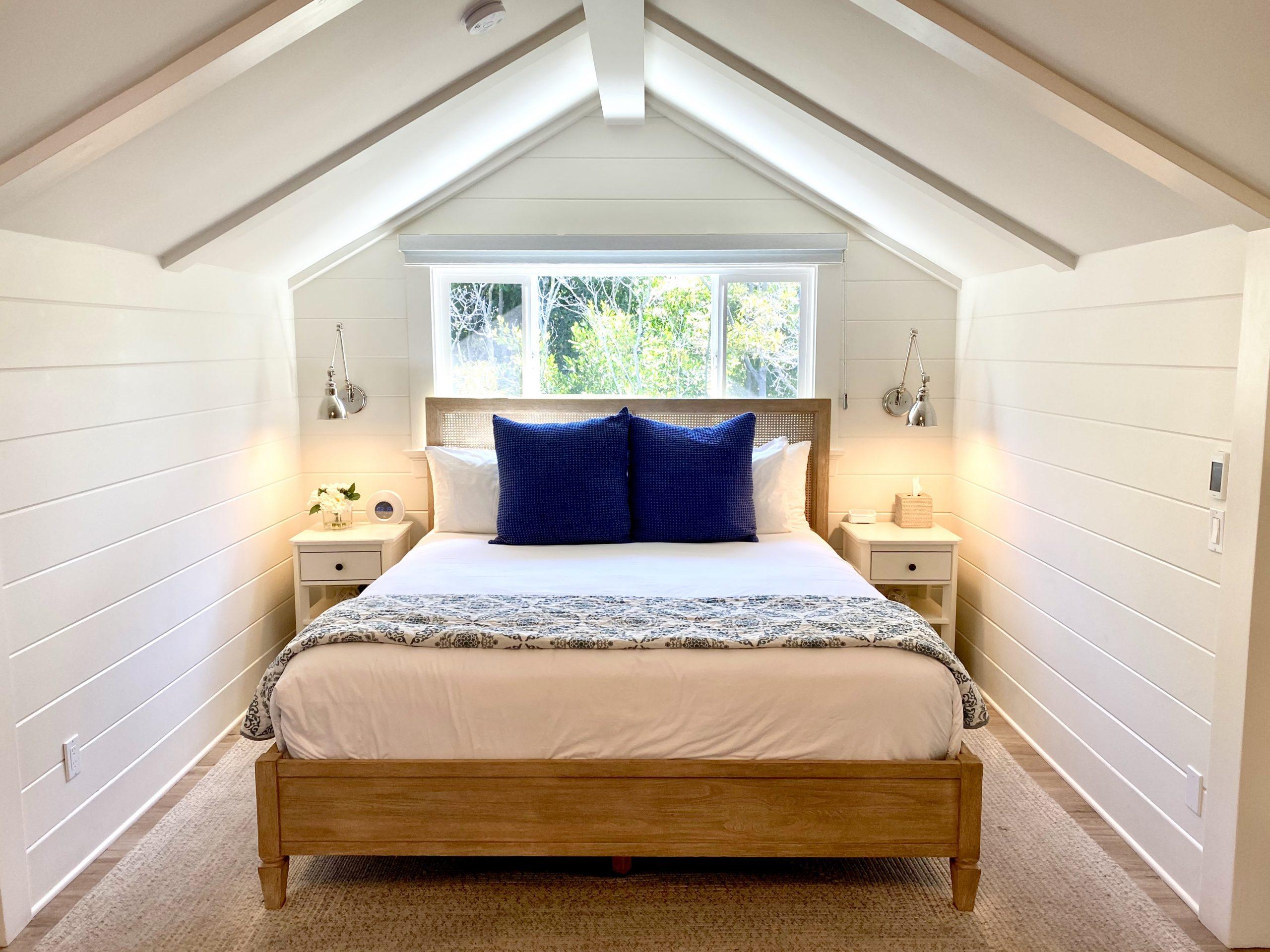 View of bedroom suite at Hideaway Santa Barbara