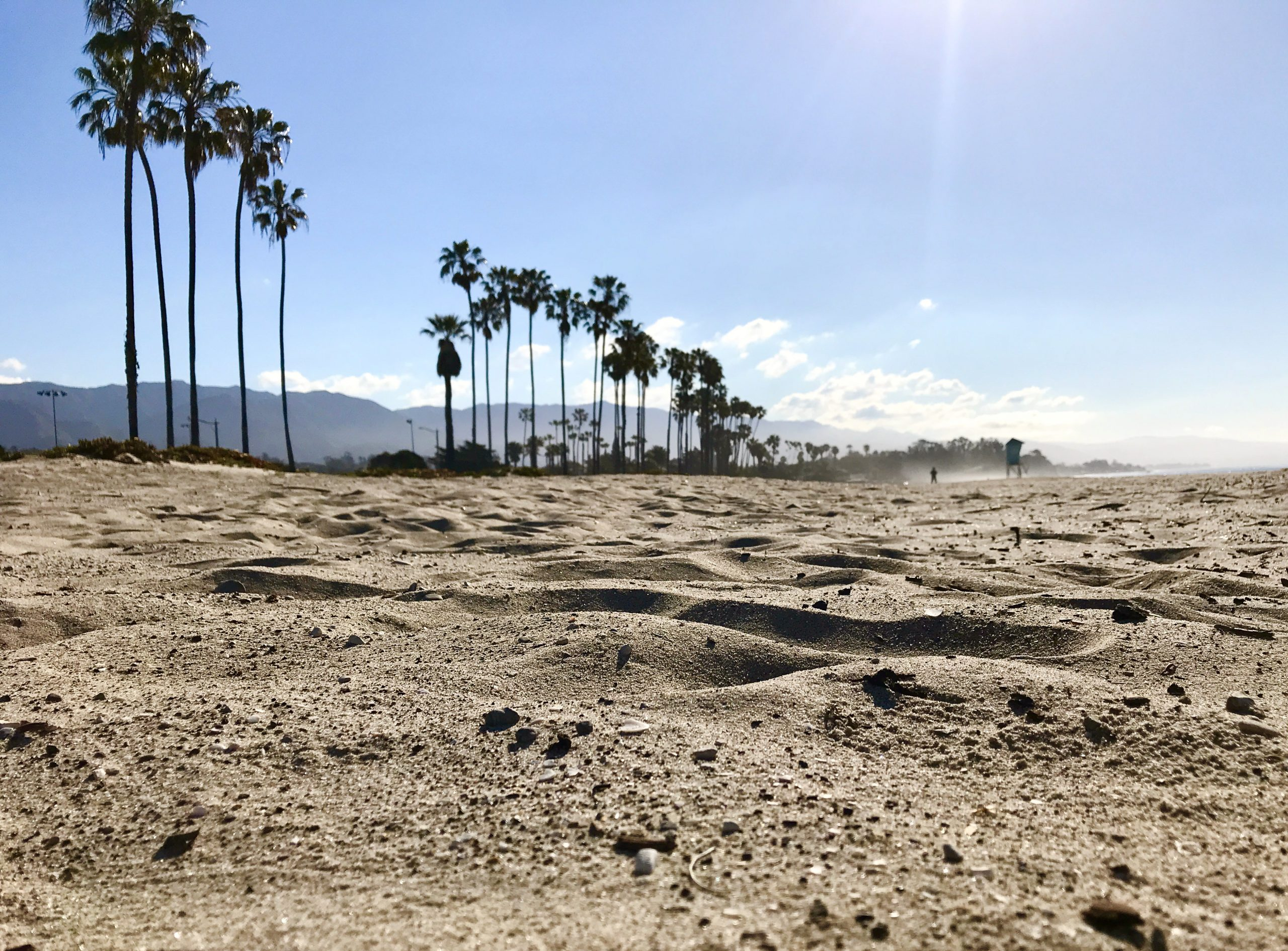 East Beach in Santa Barbara, CA