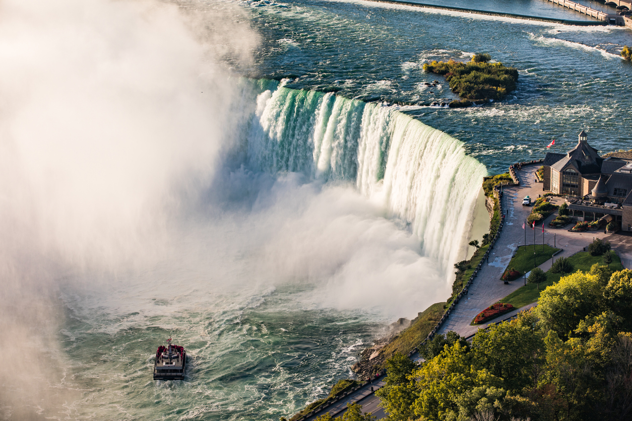 Niagara Falls in North America