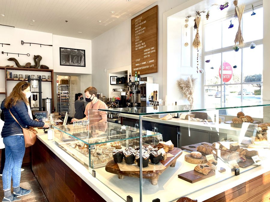 The Alta Bakery & Cafe in historic downtown Monterey, CA
