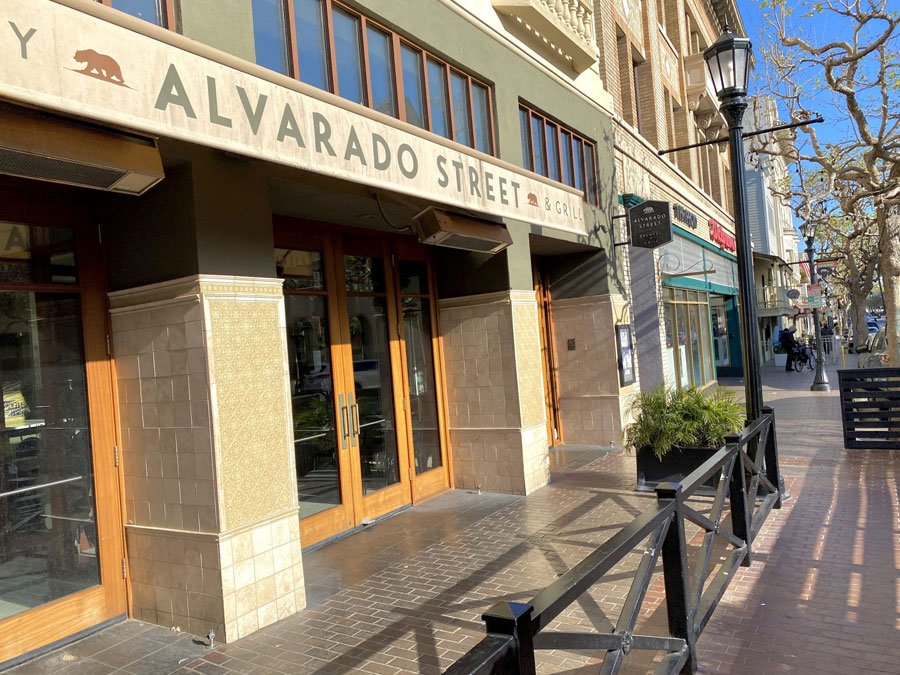 The Alvarado Street Brewery & Grill in historic downtown Monterey